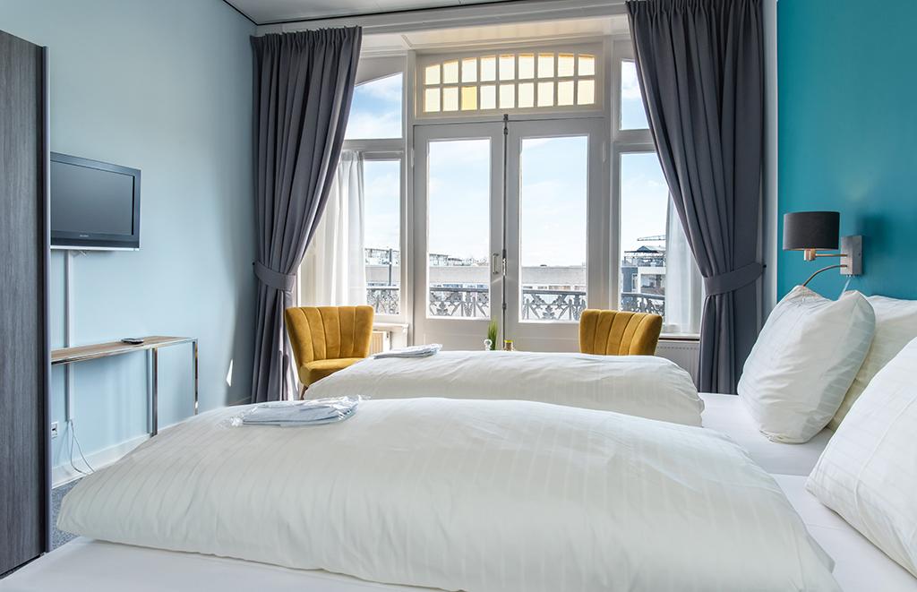 Villahotel kamer blauw 2 personen c