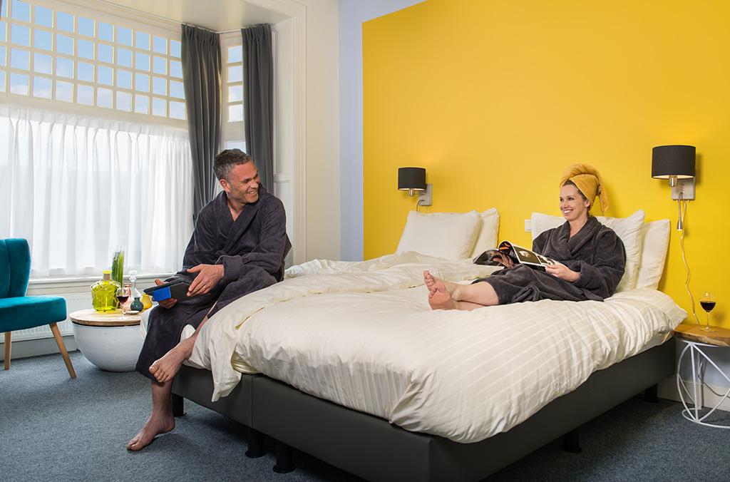 Slaapkamer Villahotel Vlissingen
